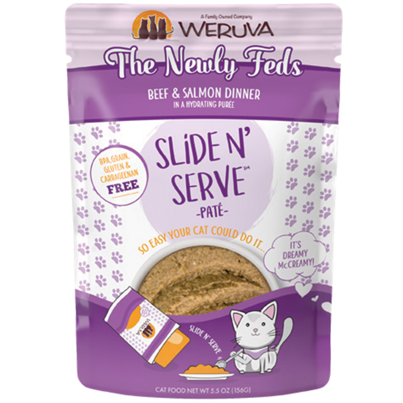 Weruva The Newly Fed Beef and Salmon Dinners Pouch I016792b