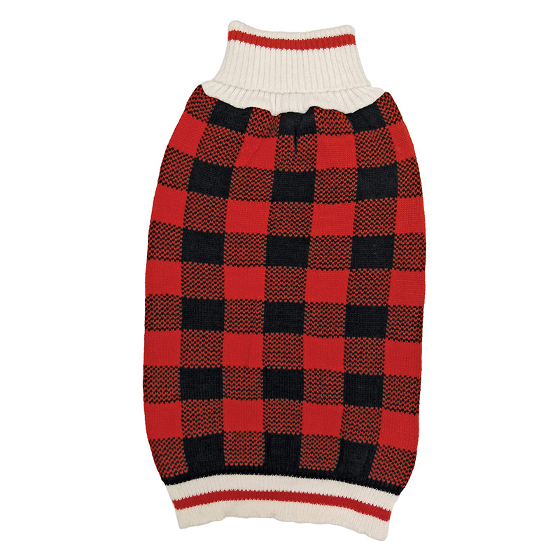 Ethical Products Fashion Pet Plaid Sweater  I016807