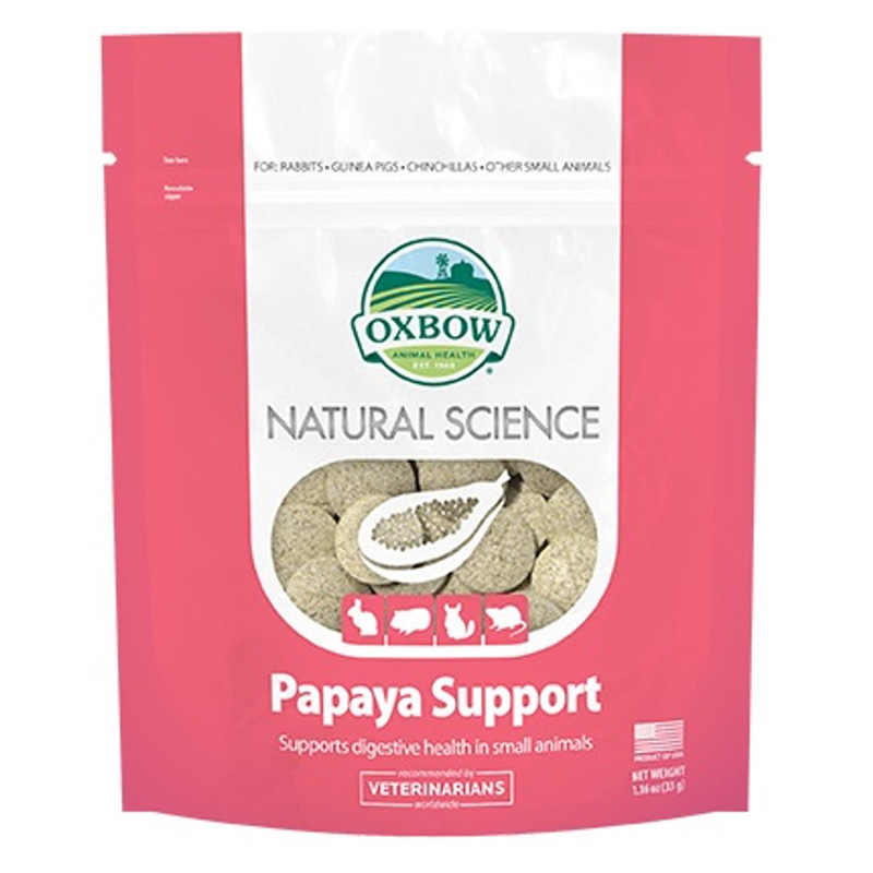 Oxbow Natural Science Papaya Support 1.16 oz I016831