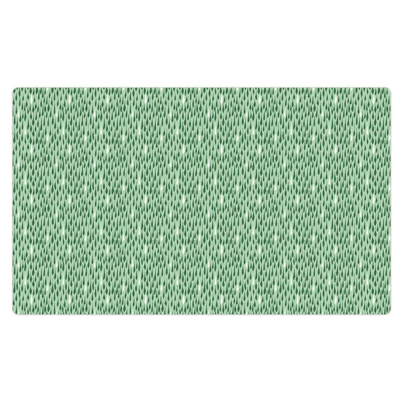 "Drymate Pet Bowl Placemat Drizzle Green 12"" X 20"" I016833"