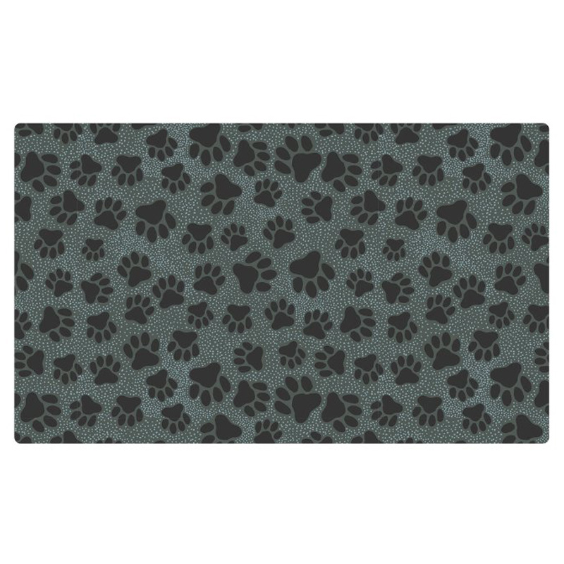 "Drymate Cat Litter Paws & Dots Black 20"" X 28"" I016848"