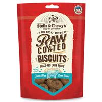Stella & Chewy's Freeze Dried Raw Coated Biscuits Grass-Fed Lamb Recipe 9 oz.  I016898