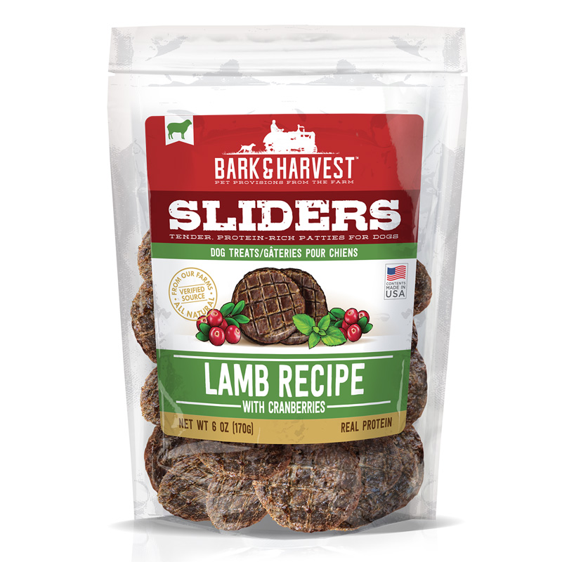 Superior Farms Pet Provisions Lamb Recipe Sliders with Cranberries 6 oz I016903