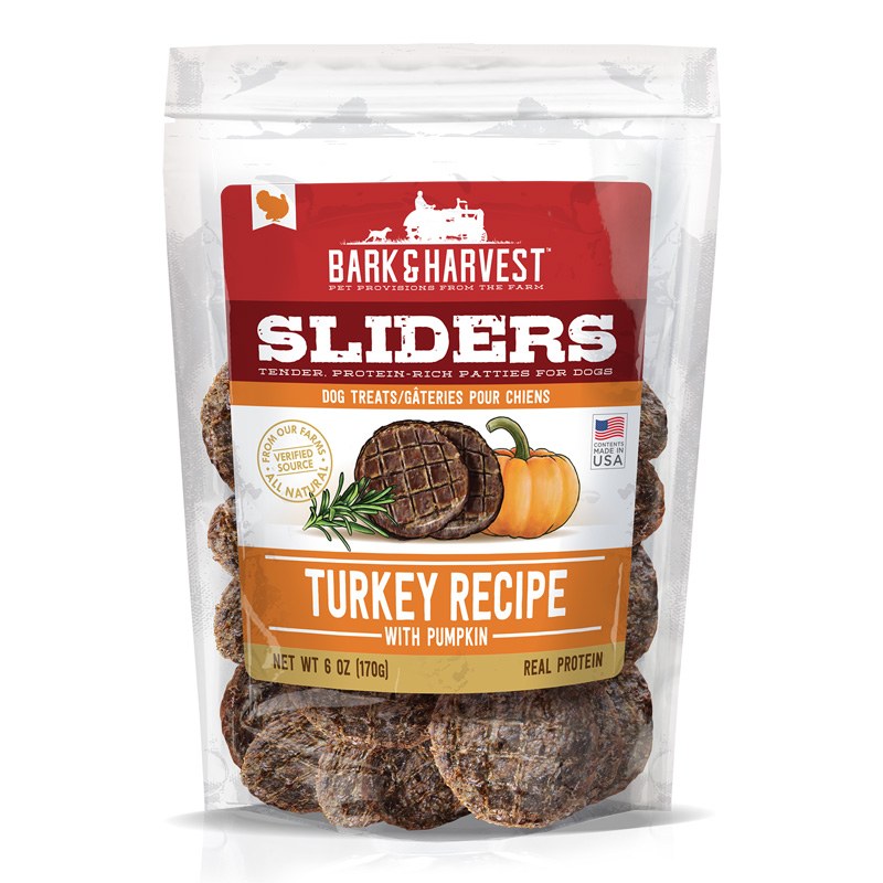 Superior Farms Pet Provisions Turkey Recipe Sliders with Pumpkin 6 oz I016904
