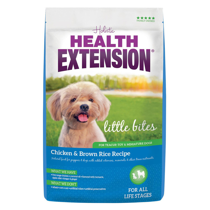 Holistic Health Extension Little Bites Chicken & Brown Rice Recipe Dog Food  I016951b