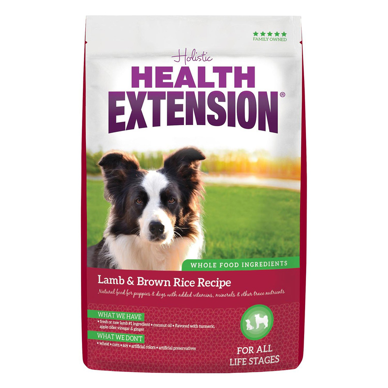 Health Extension Lamb & Brown Rice Recipe Dog Food  I016953b