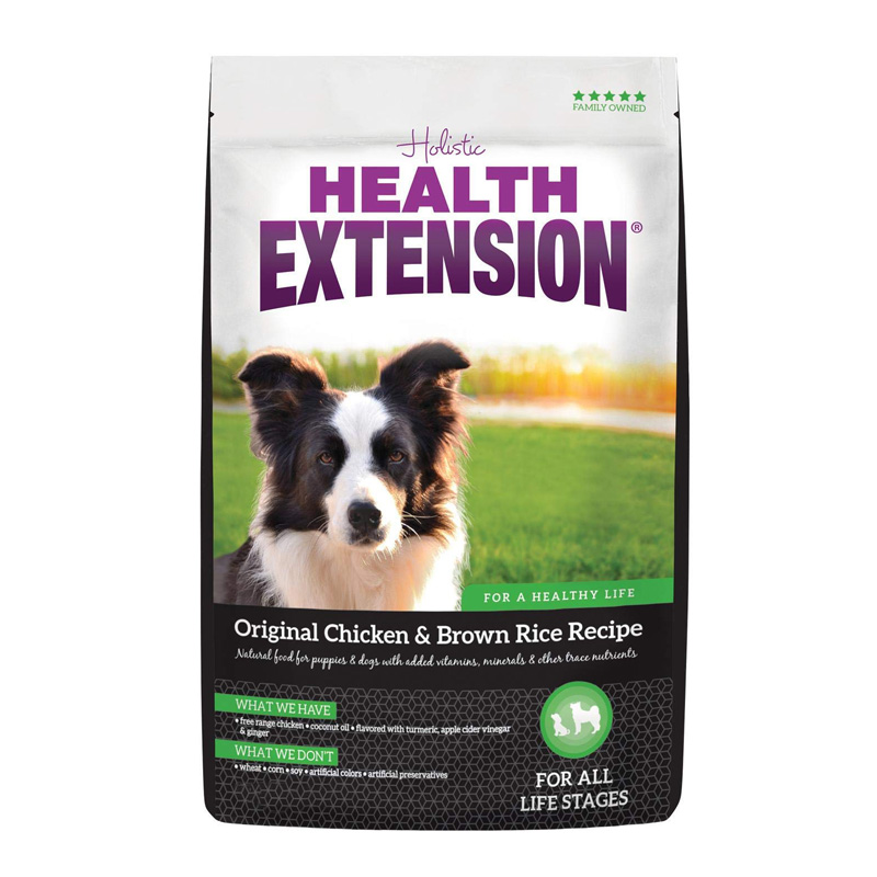 Holistic Health Extension Original Chicken & Brown Rice Recipe Dog Food  I017241b
