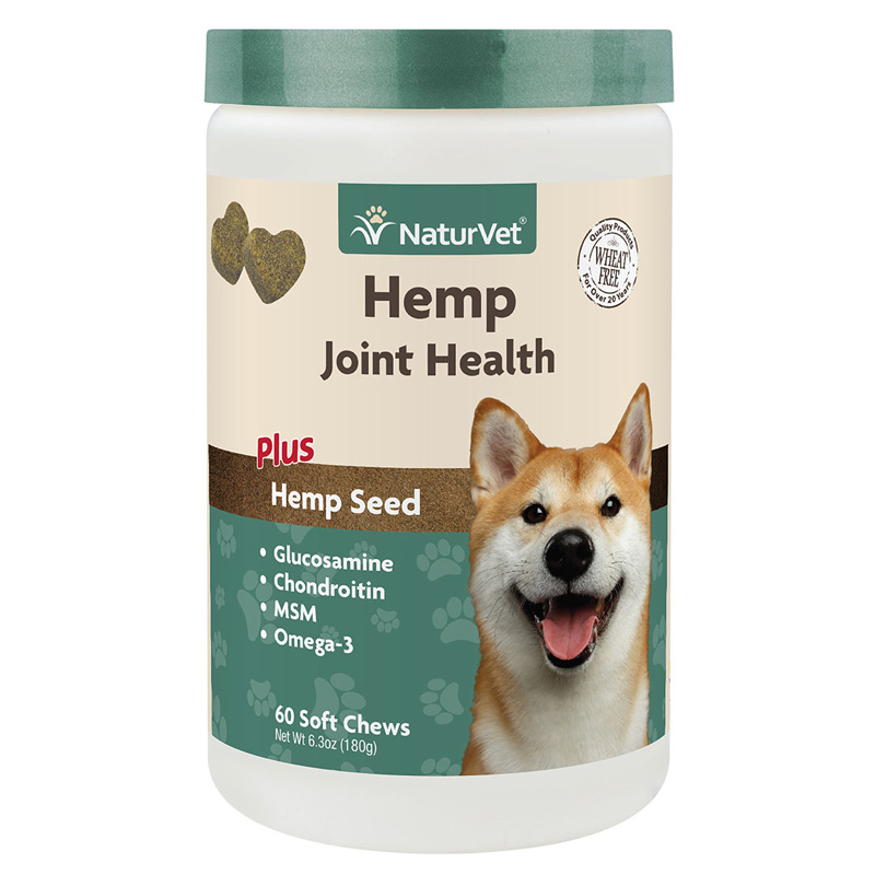 NaturVet Hemp Joint Health Soft Chews I016980b