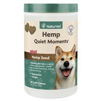 NaturVet Hemp Quiet Moments Soft Chews I016982b