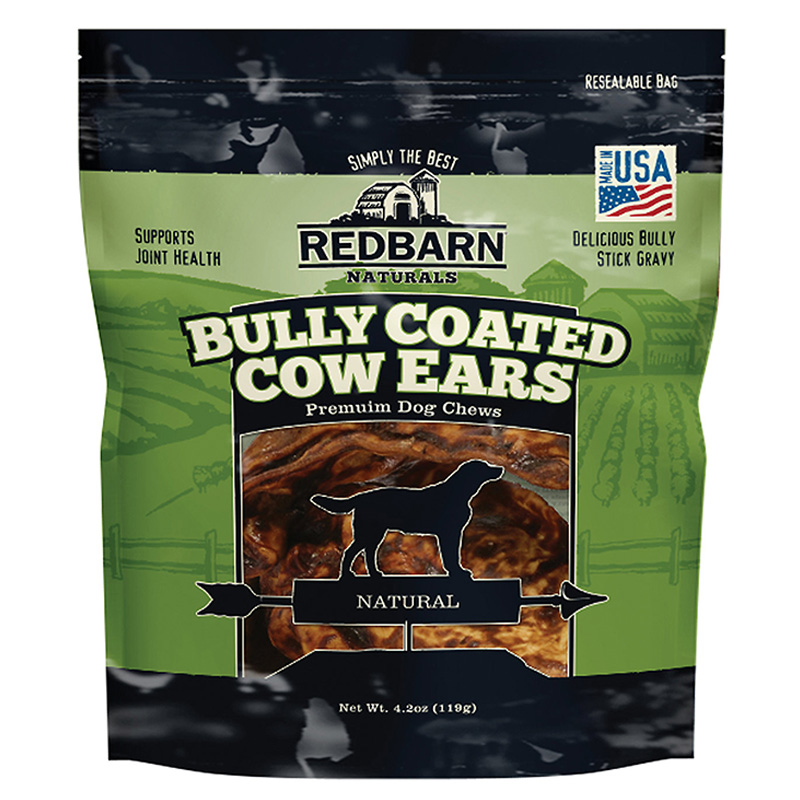 RedBarn Bully Coated Cow Ears 10 pk I017091