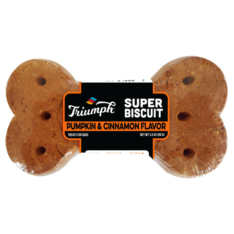 Triumph Super Biscuit Pumpkin & Cinnamon 3.5 oz I017157