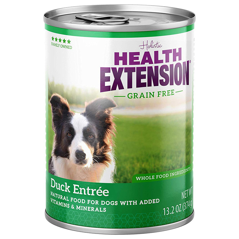 Holistic Health Extension Grain Free Duck Entrée Dog Food 13.2 oz I017246