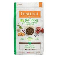 Instinct Be Natural Real Lamb & Oatmeal Recipe Dog Food I017280b