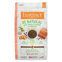 Instinct Be Natural Real Salmon & Brown Rice Recipe Dog Food I017282b