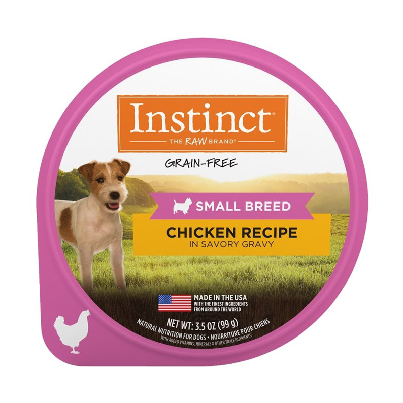 Nature's Variety Instinct Chicken Recipe Savory Gravy for Small Breeds 3.5 oz I017286