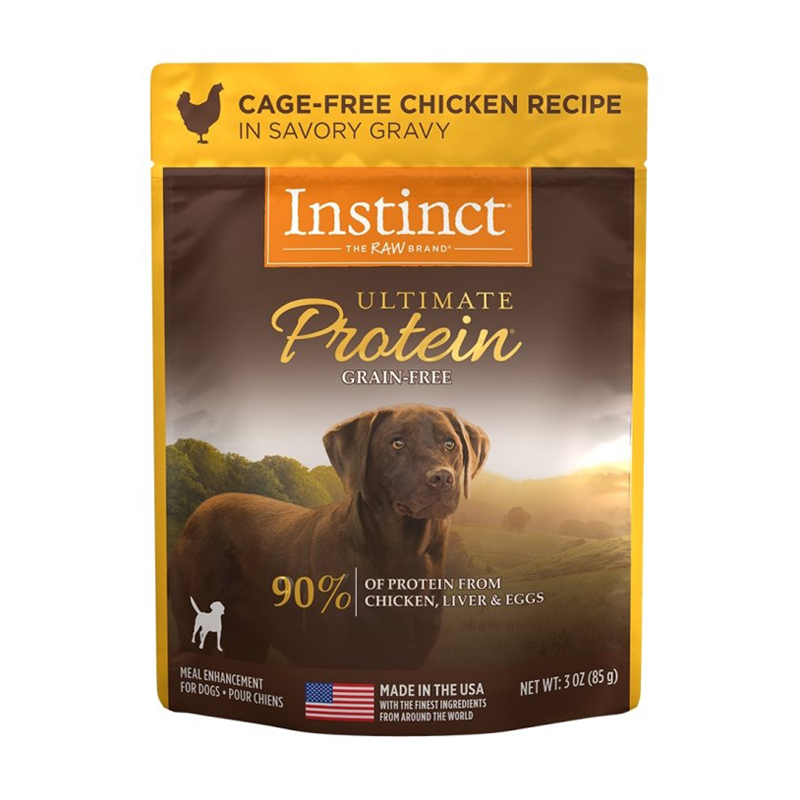 Nature's Variety Instinct Ultimate Protein Cage-Free Chicken Recipe Dog Food 3 oz I017296
