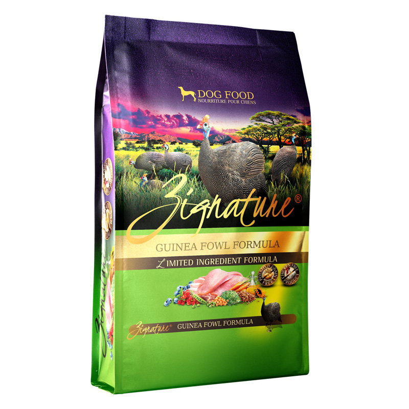 Zignature Guinea Fowl LImited Ingredient Formula Dog Food I017349b