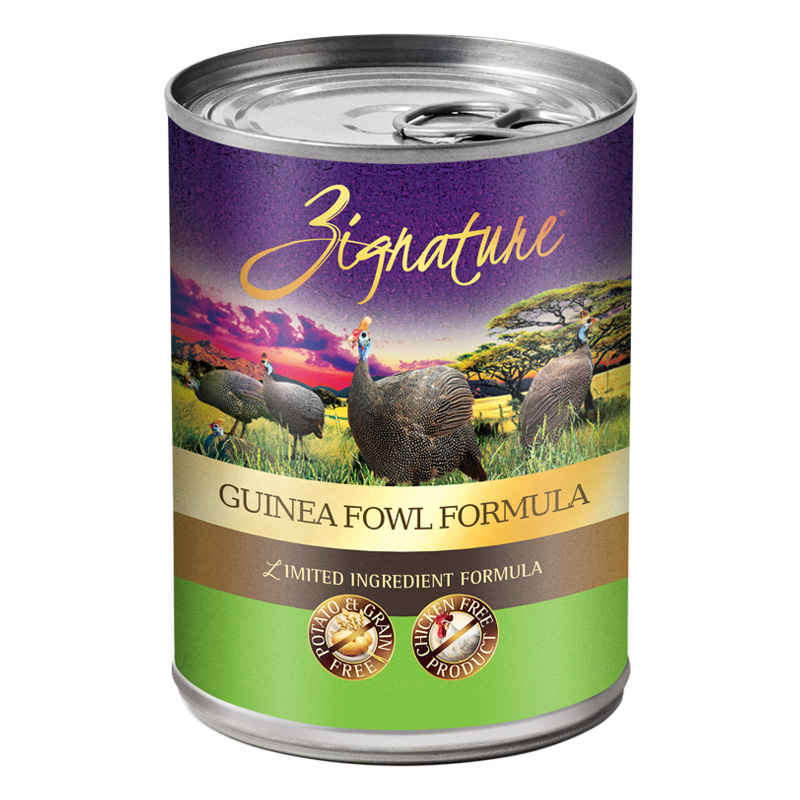 Zignature Guinea Fowl Limited Ingredient Dog Food 13 oz. I017352