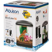 Aqueon LED MiniCube Desktop Aquarium Kit 1.6 gal I017357