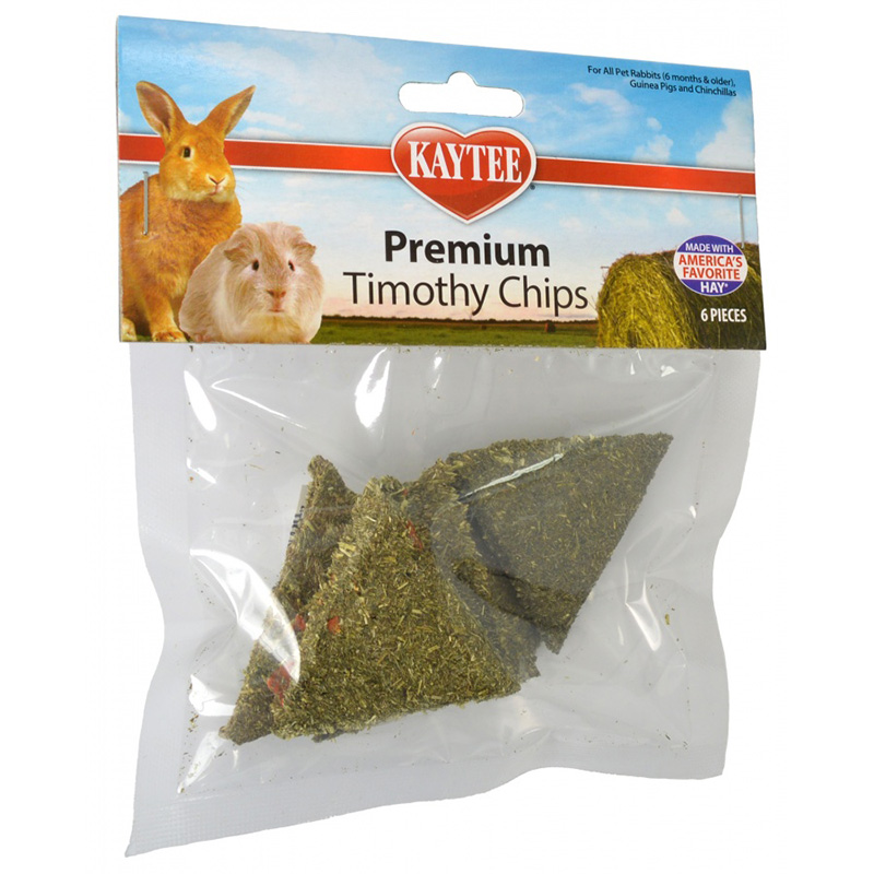 Kaytee Premium Timothy Chips Treats 6 ct I017368
