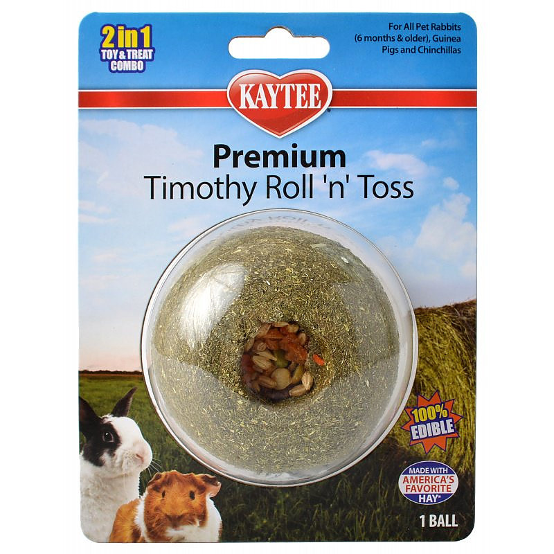 Kaytee Premium Timothy Roll 'n' Toss Treat  I017370