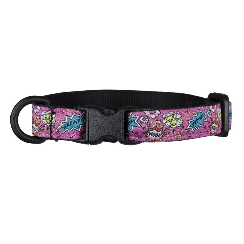 RC Pet Products Kitty Breakaway Collar Pink Comic Sounds  I017398