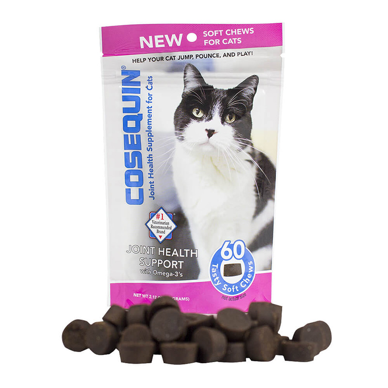 Cosequin Joint Health Supplement Soft Chews for Cats 60 ct  I017546