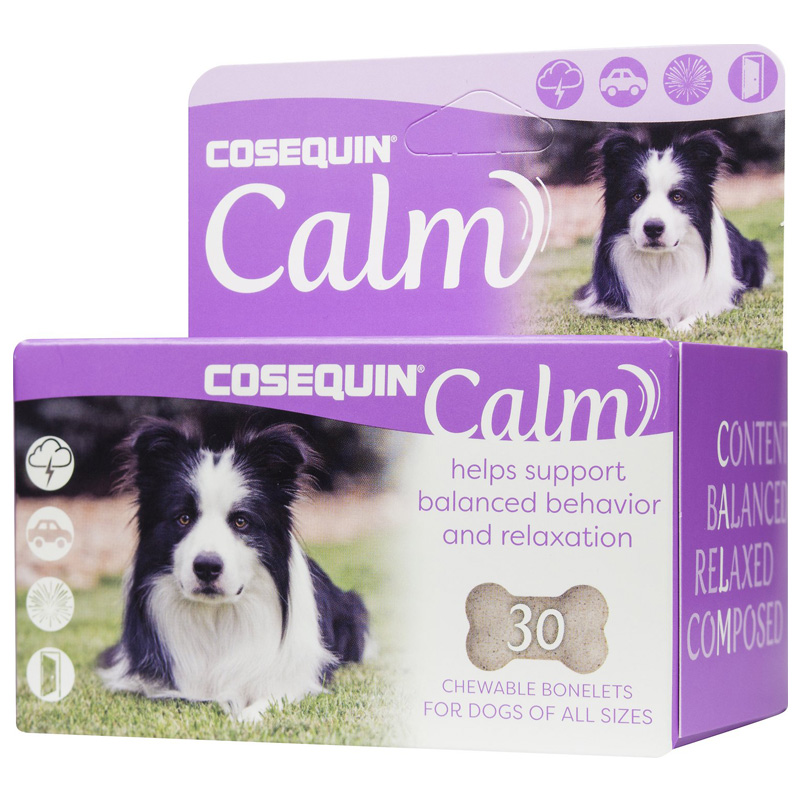 Cosequin Calm Supplement Chewable Tablets for Dogs 30 ct I017547