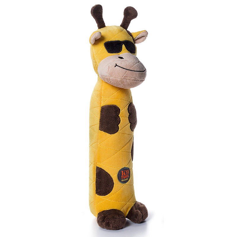 Charming Pets Bottle Bros Giraffe Dog Toy  I017698