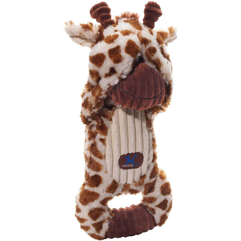 Charming Pet Peek-A-Boos Giraffe Dog Toy  I017699