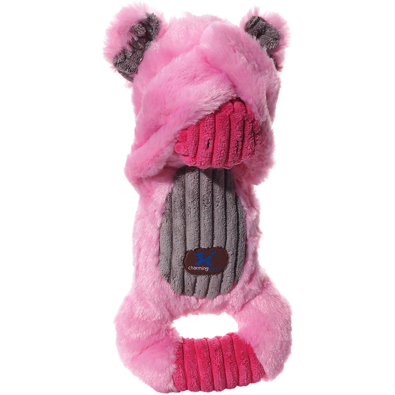 Charming Pet Peek-A-Boos Pig Dog Toy  I017700