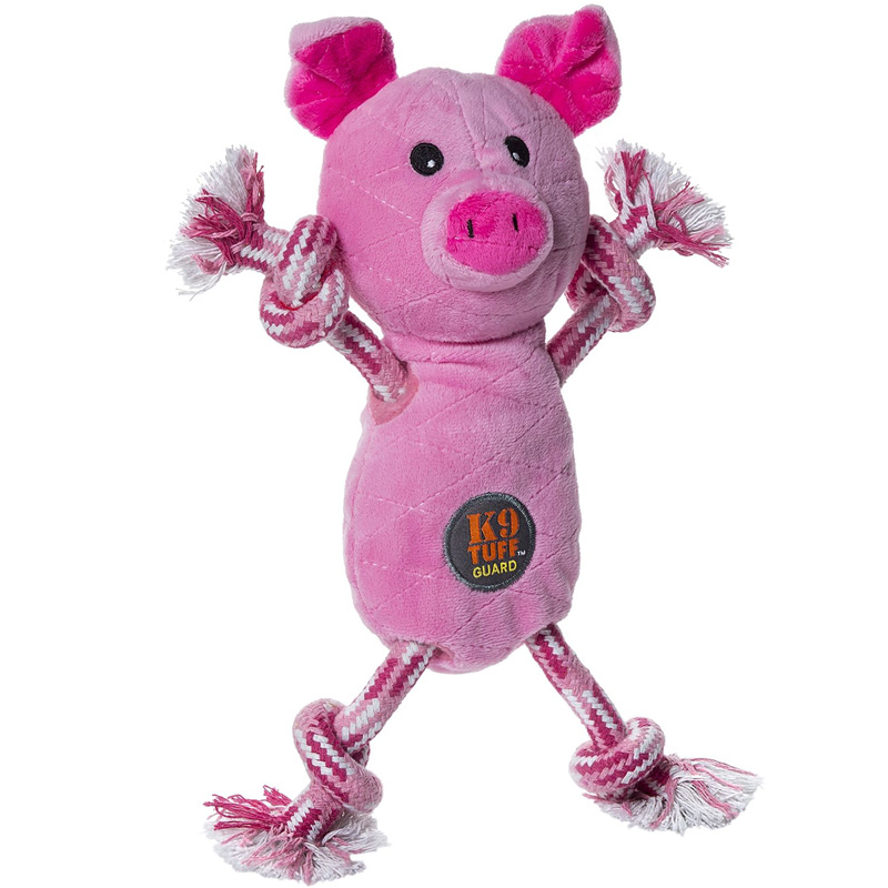 Charming Pet Tugs-O-Fun Pig Dog Toy  I017711