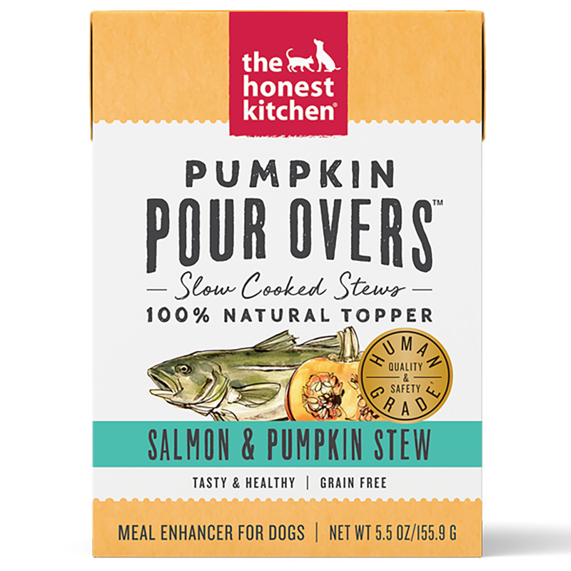 Honest Kitchen Pumpkin Pour Overs Salmon & Pumpkin Stew 5.5 oz. I017795