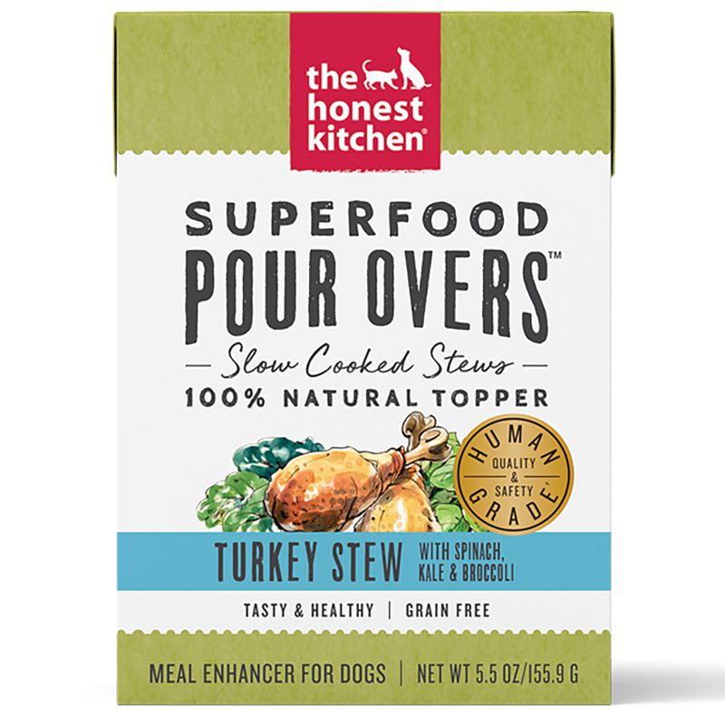 Honest Kitchen Superfood Pour Overs Turkey Stew 5.5 oz. I017800