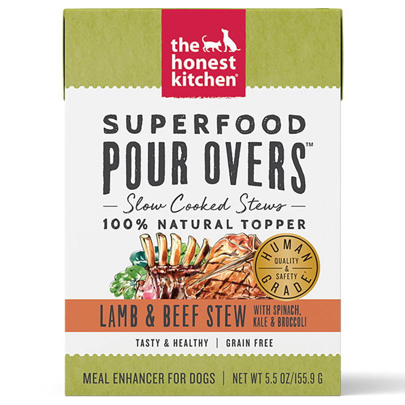 Honest Kitchen Superfood Pour Overs Lamb & Beef Stew 5.5 oz. I017801
