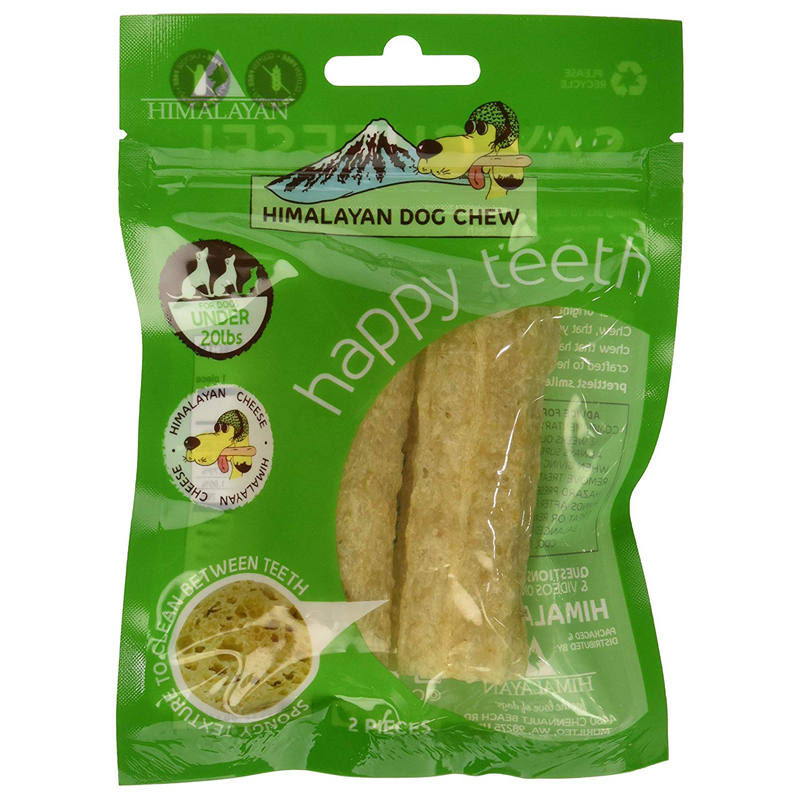 Himalayan Dog Chew Happy Teeth Dental Chew  I017827b