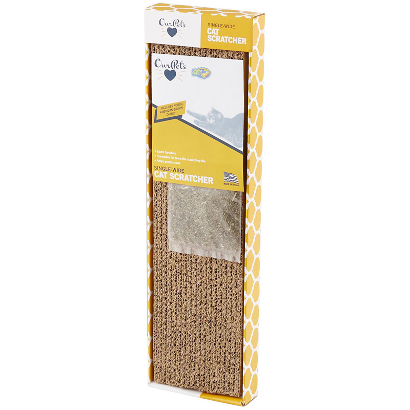 OurPets Cosmic Catnip Single Cat Scratcher  I017835