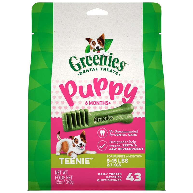 Greenies Puppy 6+ Months Dental Dog Treats  I018065b