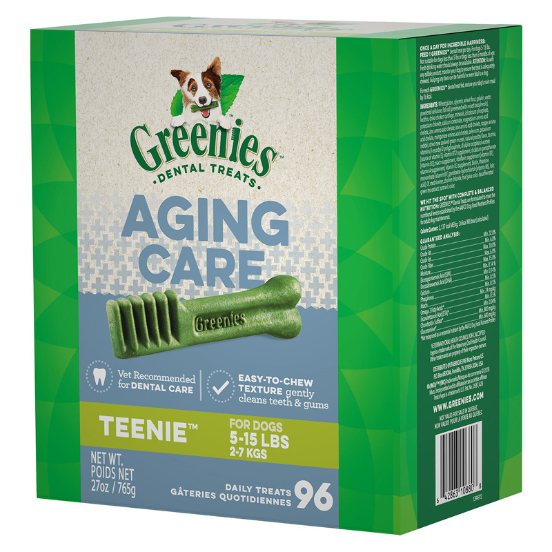 Greenies Aging Care Dental Dog Treats  I018068b