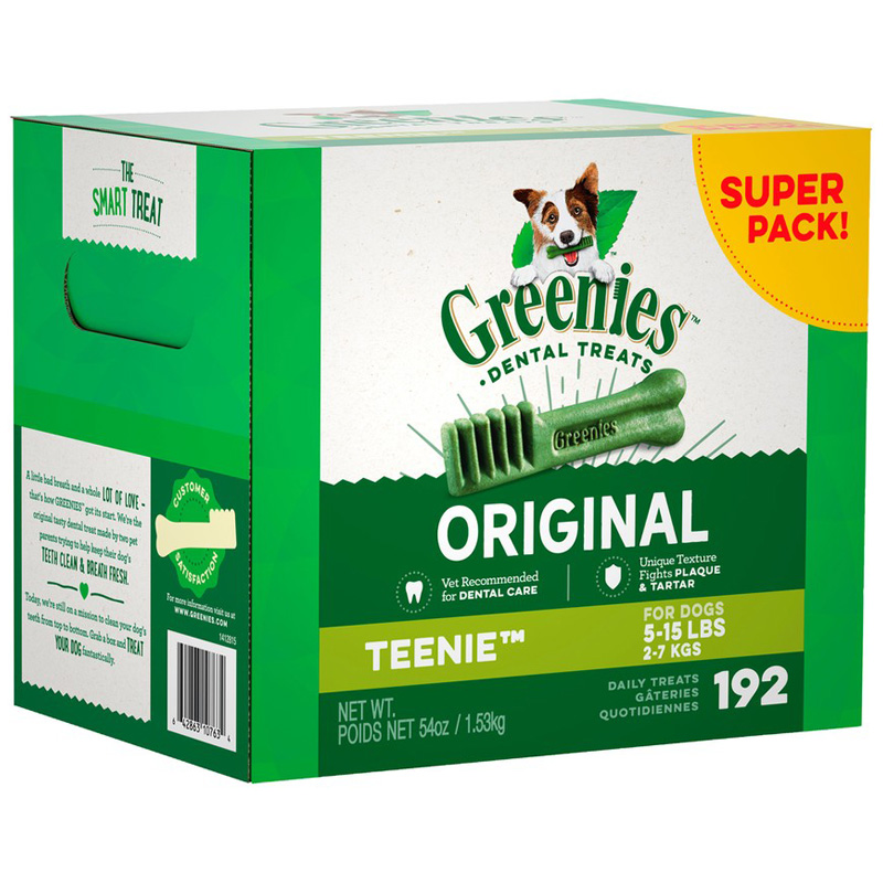 Greenies Original Dental Dog Treats  I018077b