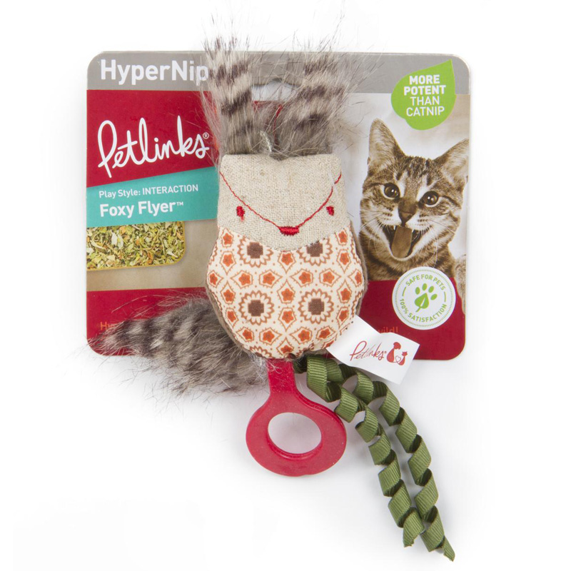 Petlinks Hypernip Foxy Flyer Cat Toy  I018162