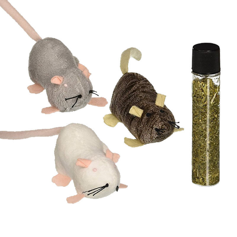 Petlinks Lil' Creepers Refillable Catnip Toy 3 ct  I018165
