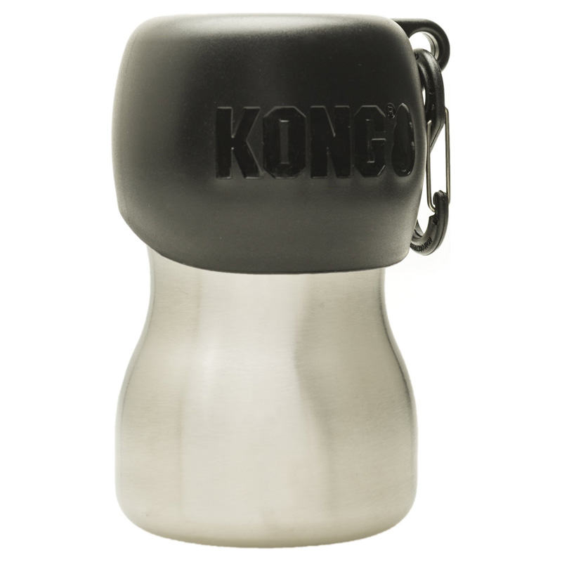 KONG H2O Stainless Steel Dog Water Bottle 9.5 oz. I018198
