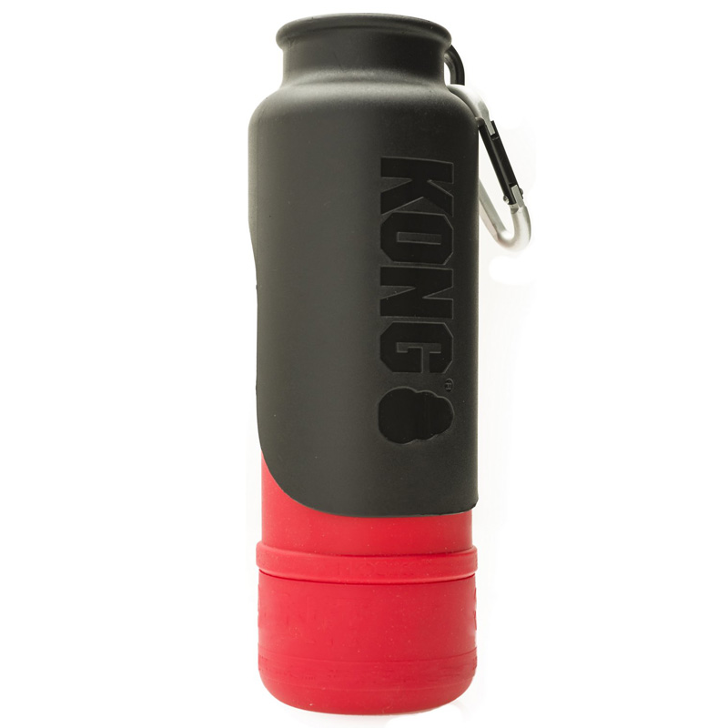 KONG H2O Stainless Steel Insulated Dog Water Bottle Red 25 oz. I018208