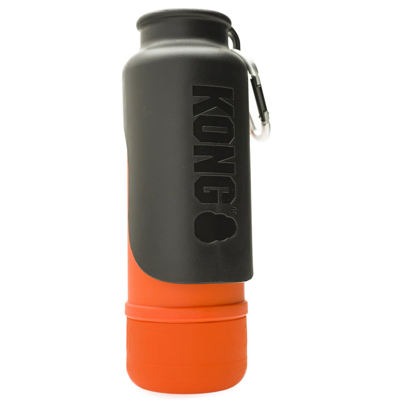 KONG H2O Stainless Steel Insulated Dog Water Bottle Orange 25 oz. I018210