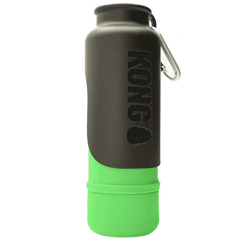 KONG H2O Stainless Steel Insulated Dog Water Bottle Green 25 oz. I018212