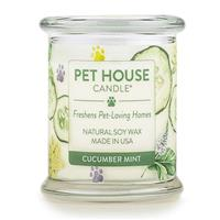 One Fur All Pet House Candle Cucumber Mint 8.5 oz I018538
