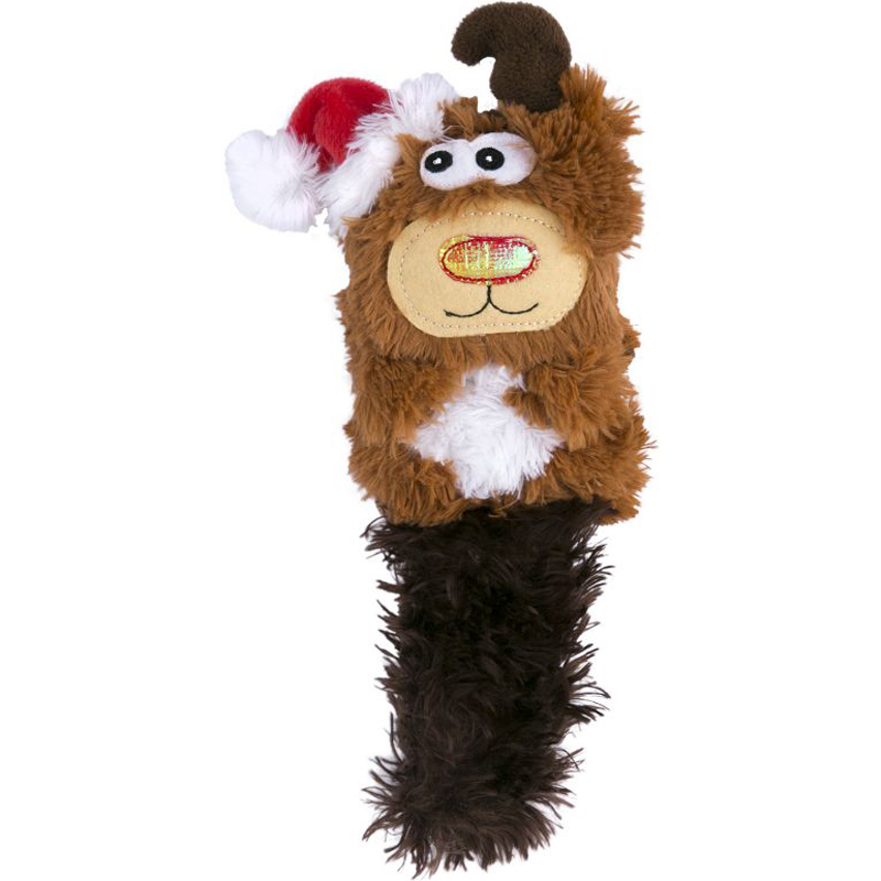 KONG Holiday Reindeer Kickeroo Cat Toy I018545