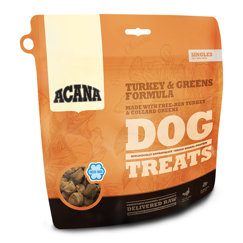 ACANA Freeze Dried Turkey and Greens Dog Treats I018658b