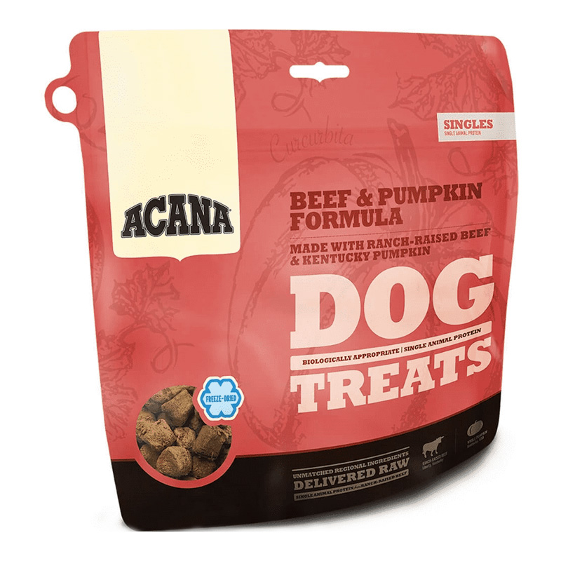 ACANA Beef & Pumpkin Frezze Dried Treats I018659b